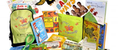 Contents Better Beginnings Backpack and Read Aloud kit
