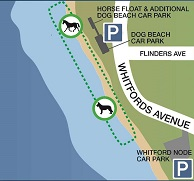 Dog Beach Map