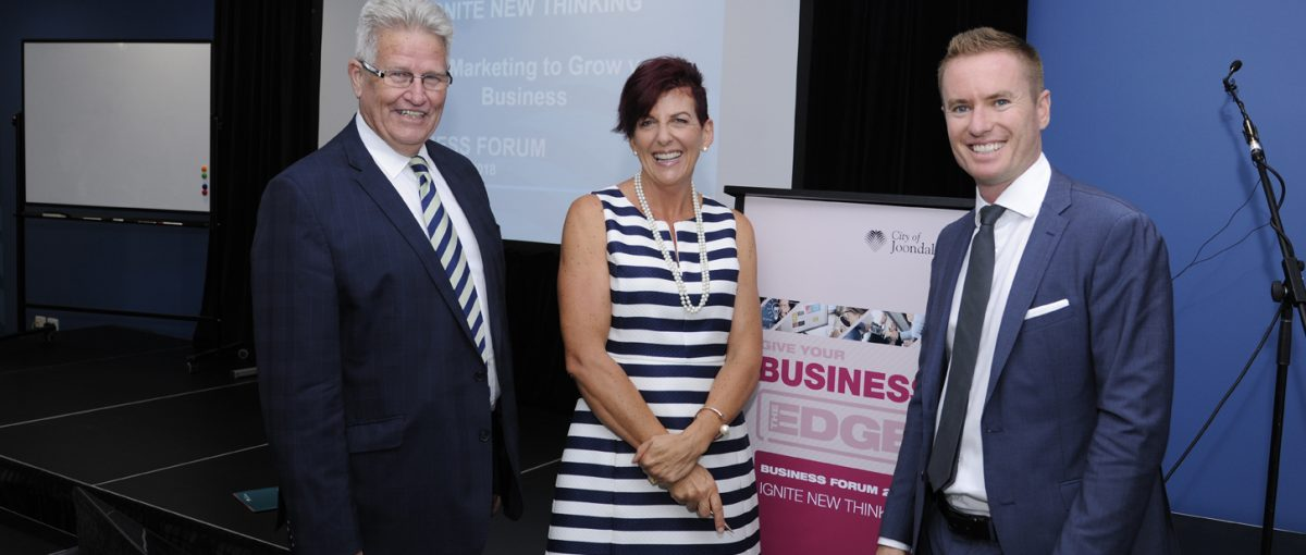 City of Joondalup Smart Marketing Business Forum image