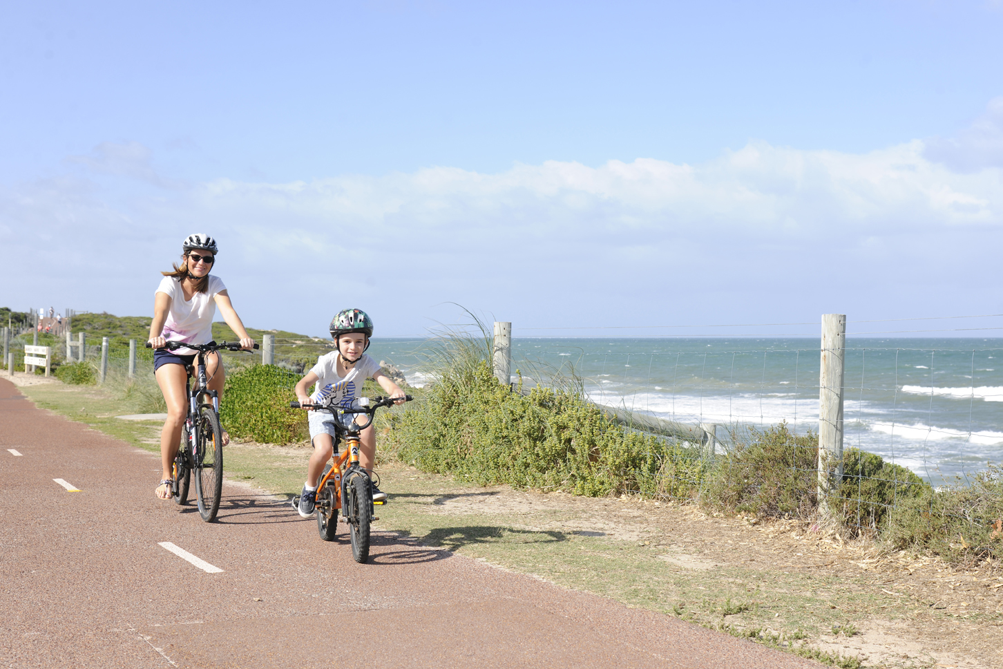 fe373ac5730 The Sunset Coast coastal path is an easy, half day family ride that runs  from Marmion, south of Hillarys Boat Harbour to Burns Beach.