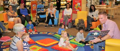 Story Time session's special guest reader unveiled
