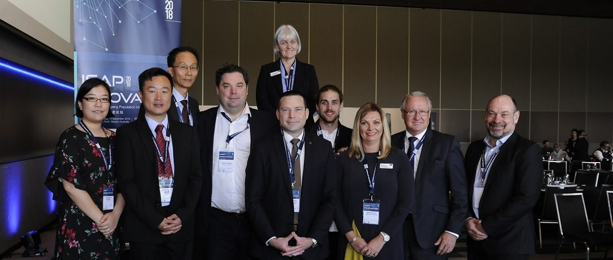 ISAP 2018 Innovation Solutions of an Ageing Population Conference attendees