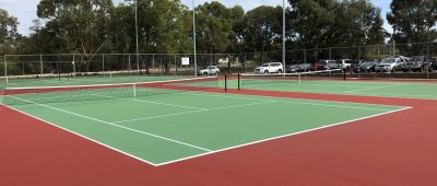 Upgrade of Tennis Courts at Warwick Regional Open Space