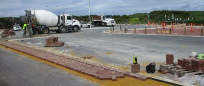 Improvements made to animal exercise beach car park