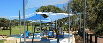 COVID-19: Playground equipment