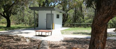 New loo for popular park