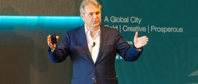 Business forum success: Salt's keynote peppered with humour